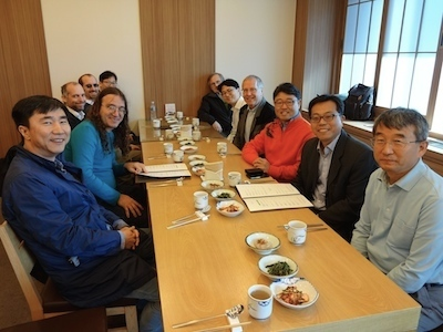 Seoul, lunch after PACS symposium